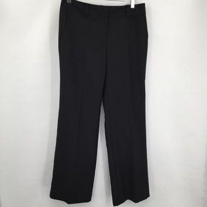 Ann Taylor Signature black trousers pants 6